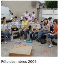 2006 fete des meres