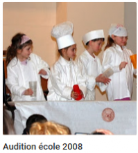 2008 audition ecole 1